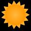 Солнечно